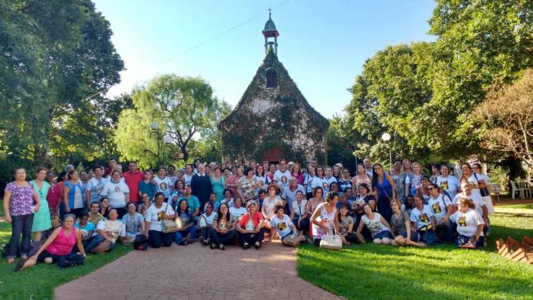 Retiro com os Missionários e Coordenadores da Mãe Peregrina