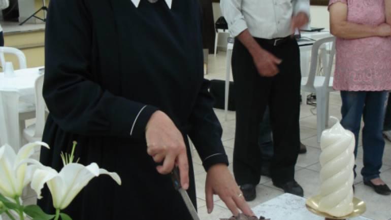 """Festa de 25 anos de vida religiosa da Irmã Mariane!!! """"Na Força Divina!!"""""""