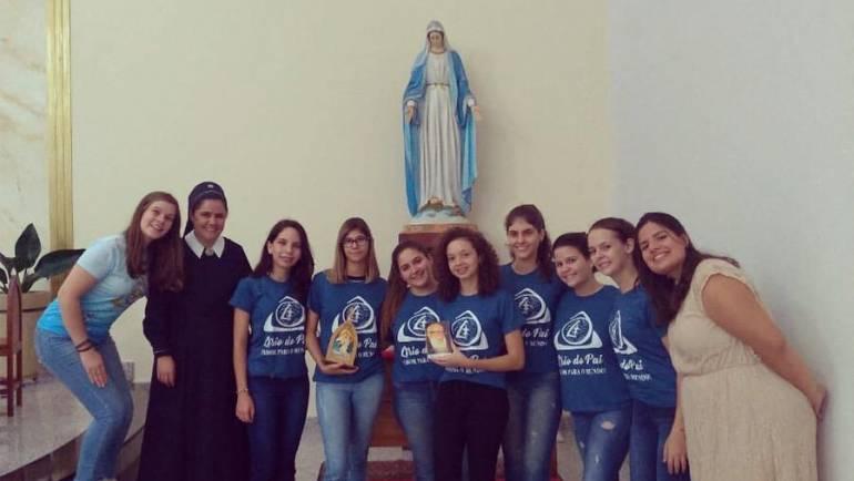 Enraizadas na alegria e amor de Maria: JUFEM Araraquara e Taquaritinga