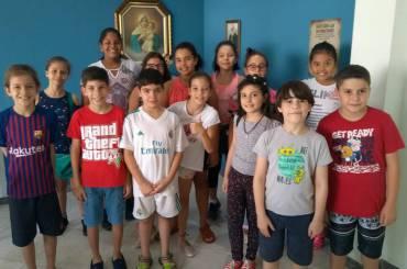 Escola de Maria acolhe as novas turmas e dá início às atividades da Catequese