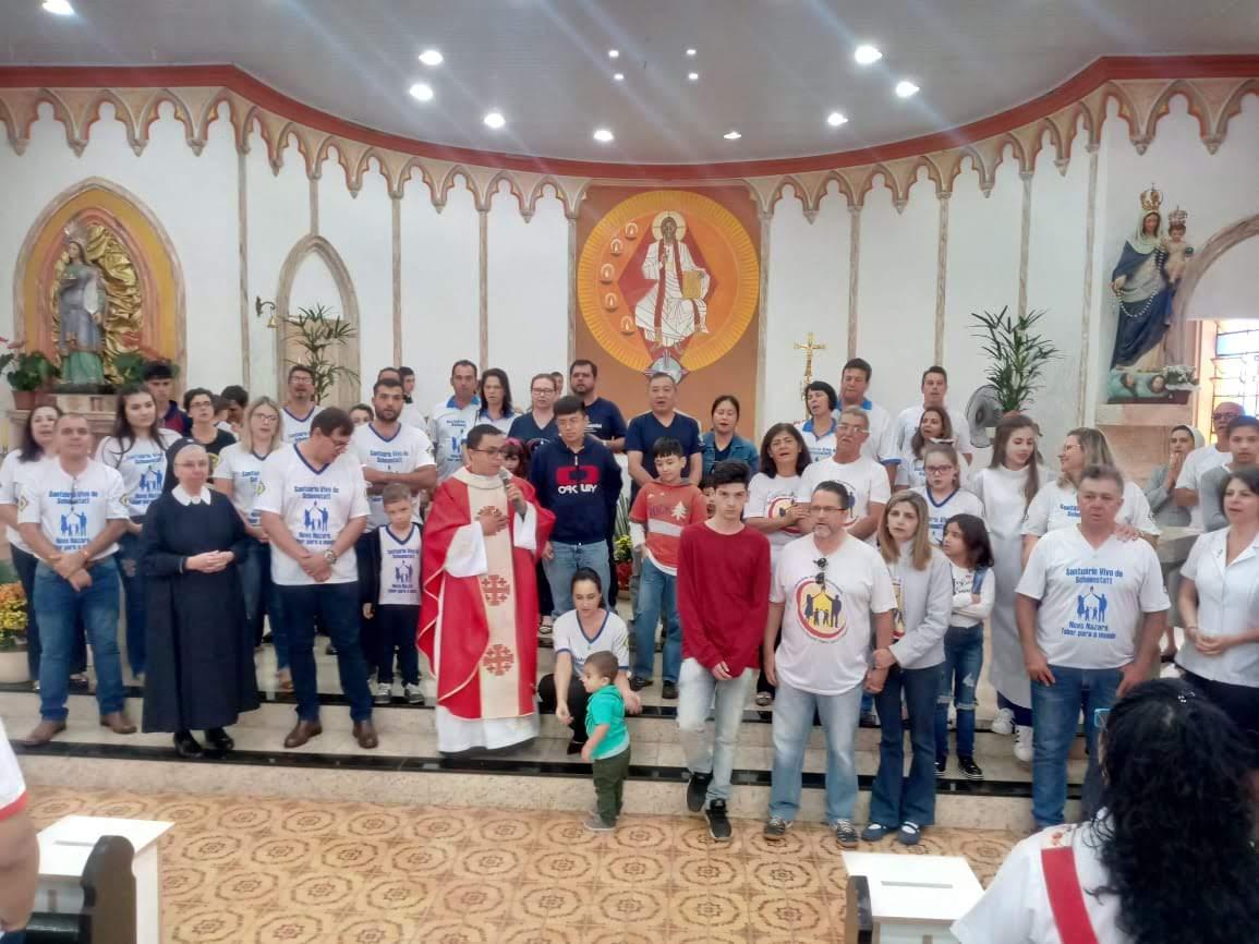 A Liga de Famílias da Diocese de Jaboticabal se reuni para seu encontro anual