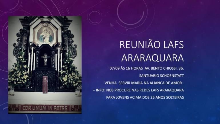 Reunião LAFS – Liga Apostólica Feminina